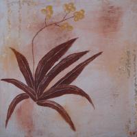 <h5>Titel: Blomst-3.</h5><p>Malet på lærred : 50x50</p>